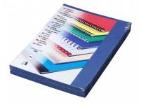 Karton DELTA A4/100 ks, tmavě modrá