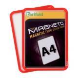 Magnetická kapsa A4, 2ks, červená