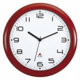 Nástěnné hodiny červené