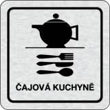 Cedulka na dveře - Čajová kuchyně