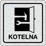 Cedulka na dveře - Kotelna