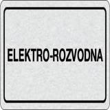 Cedulka na dveře - Elektro - rozvodna