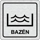 Cedulka na dveře - Bazén