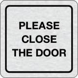 Cedulka na dveře - Please close the door