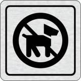Cedulka na dveře - Zákaz vstupu se psem II.