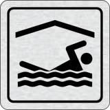 Cedulka na dveře - Bazén krytý