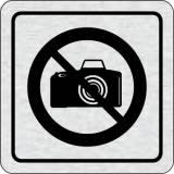 Cedulka na dveře - Zákaz fotografování