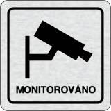 Cedulka na dveře - Monitorováno