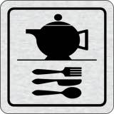 Cedulka na dveře - Kuchyňka