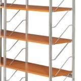 Přídavné police k interierovému regálu, 600x350 mm, třešeň